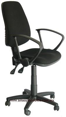 Silla para oficina reclinable anatomica con ajuste de for Sillas altas giratorias para oficina